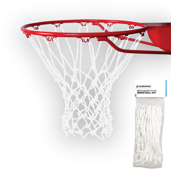 "Champro NG05 Basketball Net ""Brute"" Braided - White"
