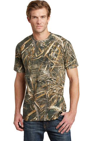 Russell Outdoors NP0021R Realtree Explorer 100% Cotton T-Shirt - Realtree Max 5 - HIT A Double