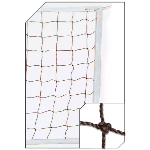 Champro NV01 3.0 mm Braided Volleyball Net - HIT A Double