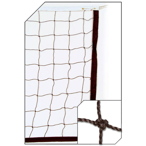 Champro NV04 2.5 mm Twisted Volleyball Net - HIT A Double