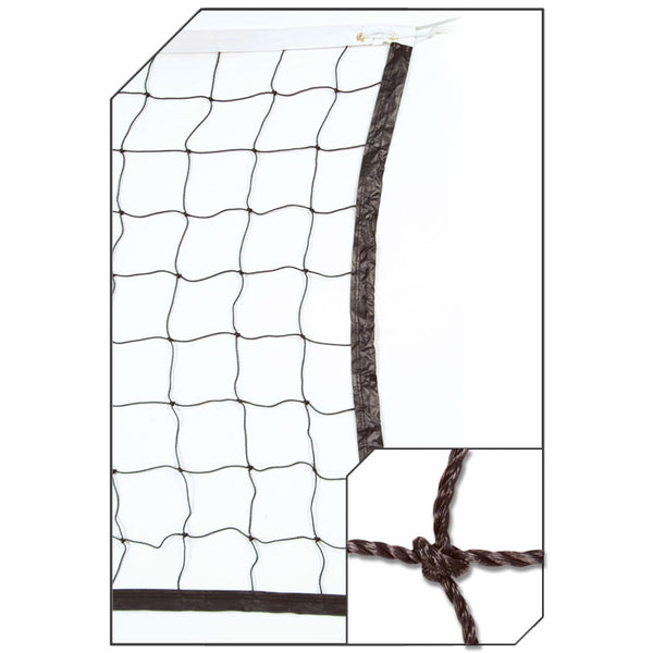 Champro NV06 2.0 mm Twisted Volleyball Net - HIT A Double