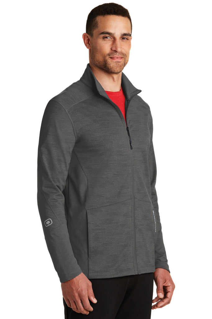 OGIO Endurance OE702 Sonar Full-Zip - Blacktop Heather - HIT A Double