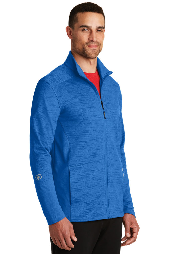 OGIO Endurance OE702 Sonar Full-Zip - Electric Blue Heather - HIT A Double