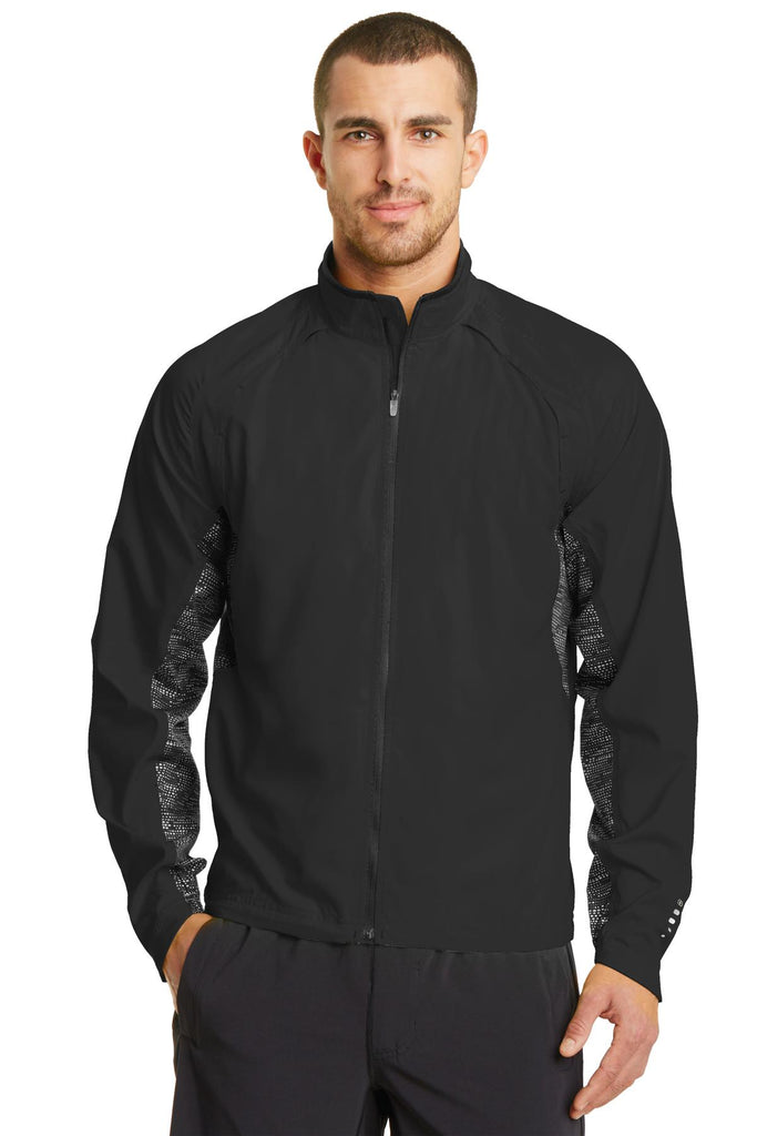 OGIO Endurance OE710 Trainer Jacket - Blacktop Black Reflective - HIT A Double