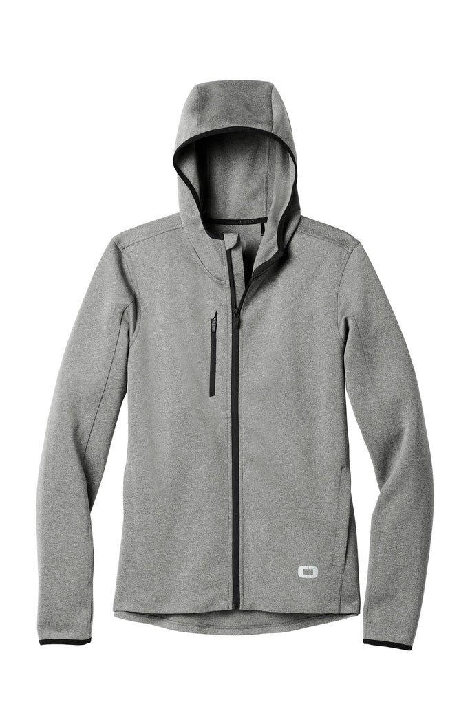 OGIO Endurance OE728 Stealth Full-Zip Jacket - Heather Gray - HIT A Double