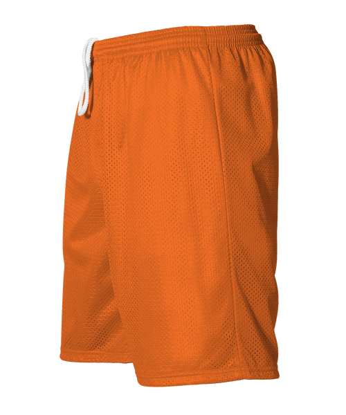 Alleson 566PY Youth Extreme Mesh Unisex Short - Orange - HIT A Double