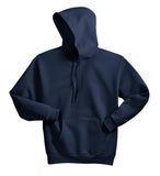 Hanes P170 Ecosmart Pullover Hooded Sweatshirt - Navy - HIT A Double