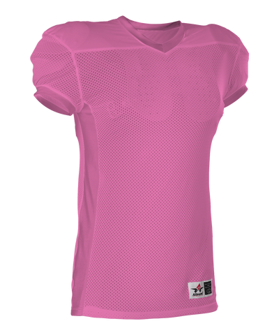 Alleson 750EY Youth Football Jersey - Pink - Football - Hit A Double