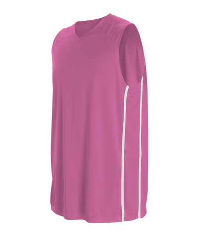 Alleson 535JY Youth Basketball Jersey - Pink White