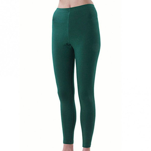 Pizzazz Sport Cheer Dance Tights - Forest
