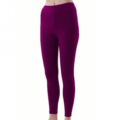 Pizzazz Sport Cheer Dance Tights - Maroon