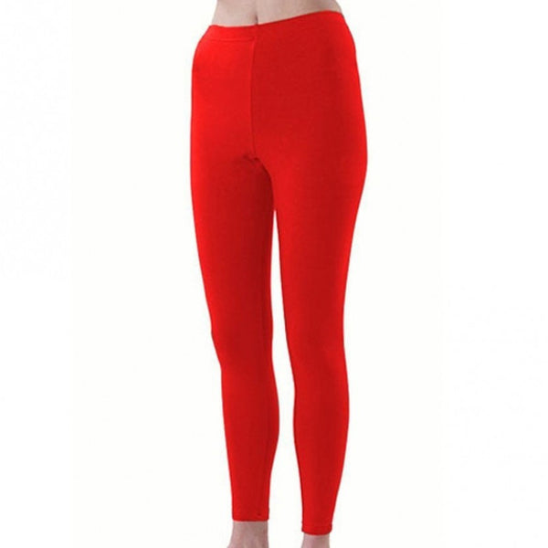 Pizzazz Sport Cheer Dance Tights - Red