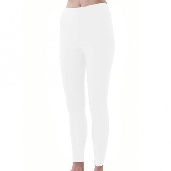 Pizzazz Sport Cheer Dance Tights - White