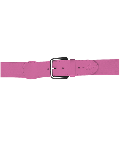 Alleson 3BBY Youth Baseball Belt 1.5 Width - Pink - Baseball Apparel, Softball Apparel - Hit A Double