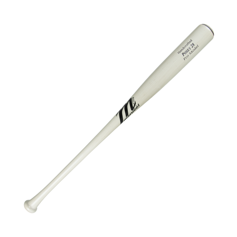 Marucci Buster Posey Maple Bat MVEIPOSEY28 - Whitewash - Baseball Bats - Hit A Double - 1