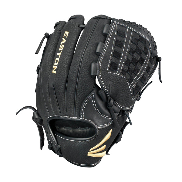 "Easton Prime 12.50"" Softball Utility Glove - Black"