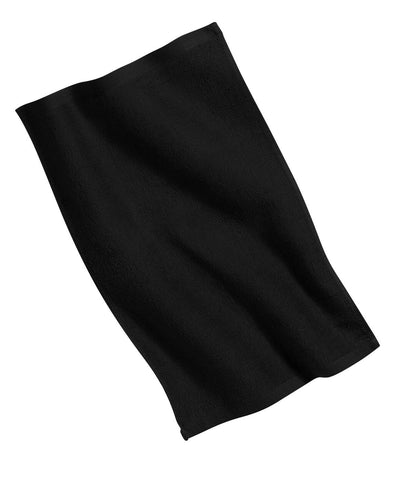 Port Authority PT38 Rally Towel - Black