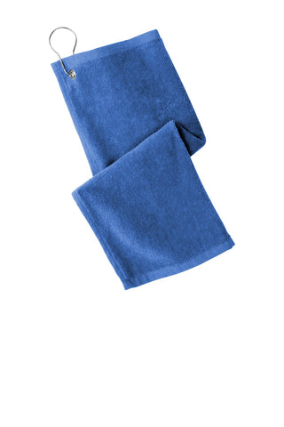 Port Authority PT400 Grommeted Hemmed Towel - Royal - HIT A Double