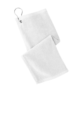 Port Authority PT400 Grommeted Hemmed Towel - White - HIT A Double