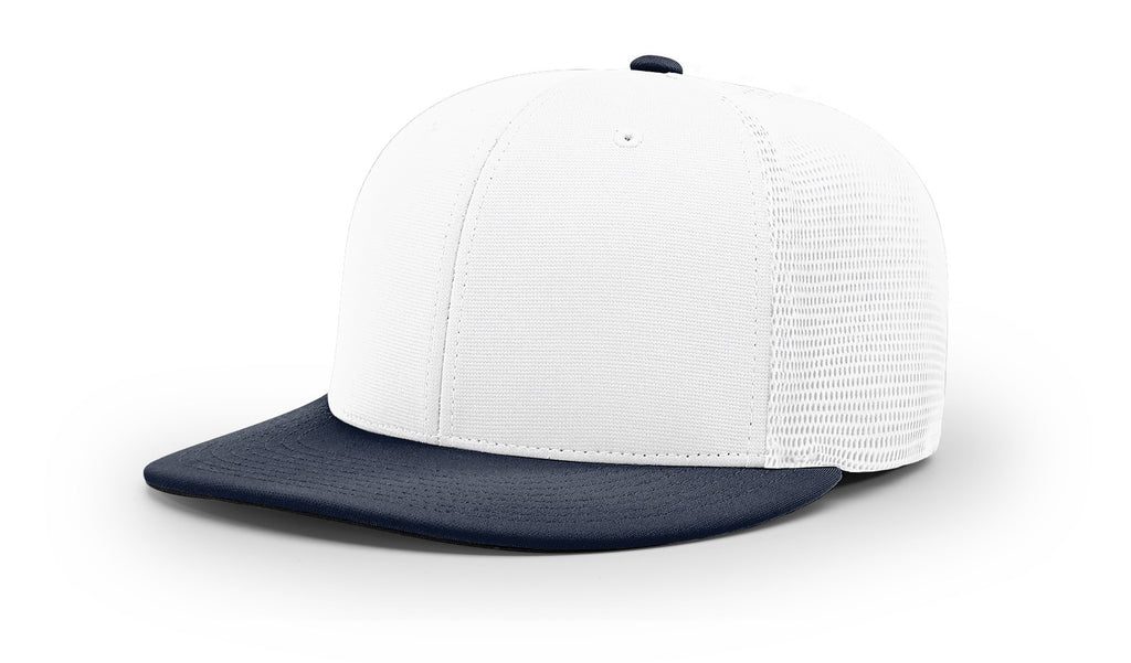 Richardson PTS20M Pulse/Mesh Back R-Flex Cap - White Navy