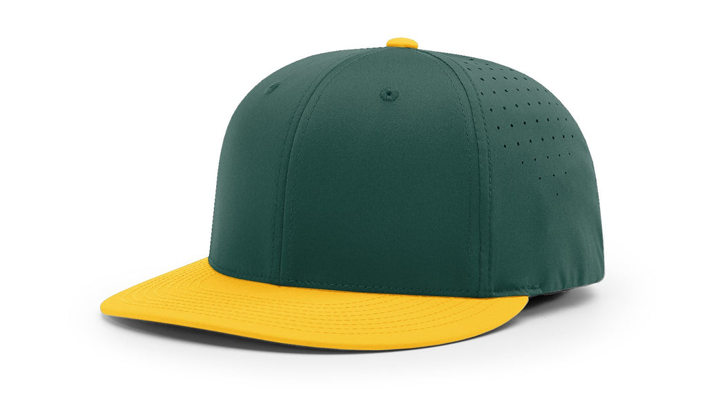 Richardson PTS30 Lite R-Flex Cap - Dark Green Gold