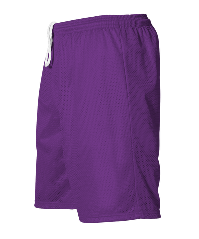 Alleson 566PY Youth Extreme Mesh Unisex Short - Purple - HIT A Double