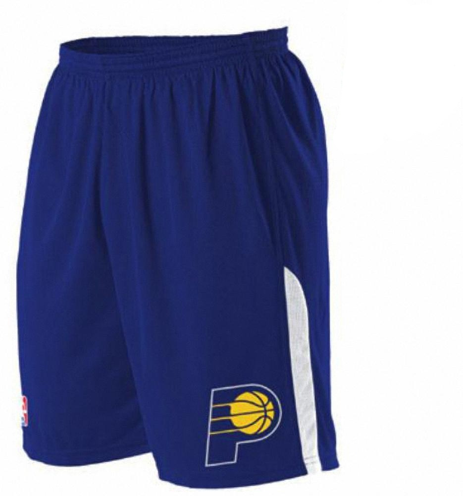 b1f9a6b8c Alleson A205LY Youth NBA Logo Game Short - Indian Pacers – HIT A Double