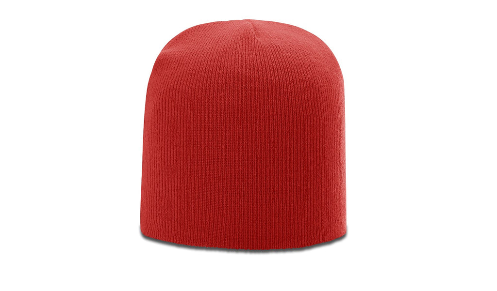 Richardson R15 Solid Knit Beanie - Red