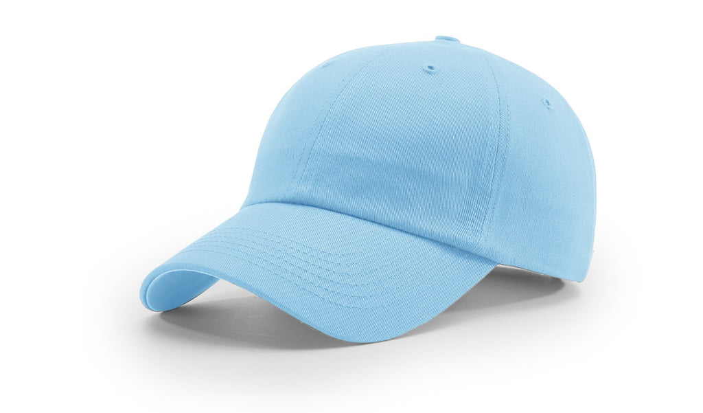 Richardson R65 Relaxed Twill Cap - Columbia Blue