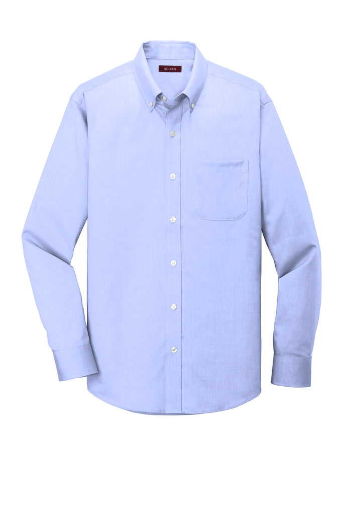 Red House RH240 Pinpoint Oxford Non-Iron Shirt - Blue - HIT A Double