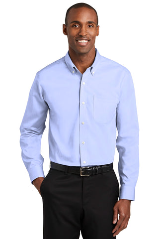 Red House RH240 Pinpoint Oxford Non-Iron Shirt - Blue
