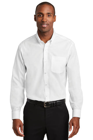 Red House RH240 Pinpoint Oxford Non-Iron Shirt - White