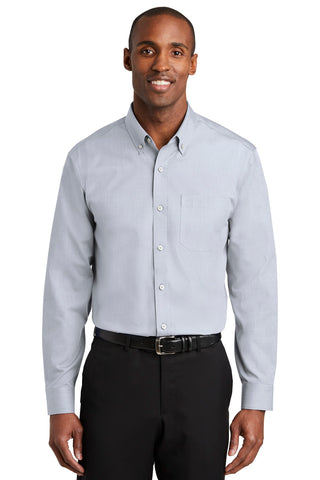 Red House RH370 Nailhead Non-Iron Shirt - Ice Gray