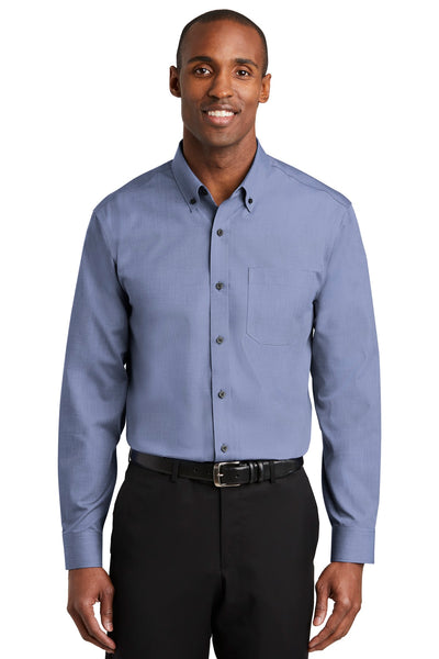 Red House RH370 Nailhead Non-Iron Shirt - Navy
