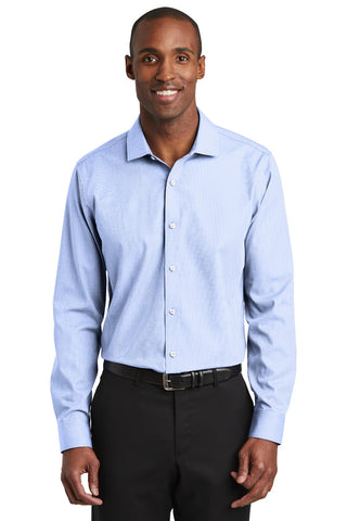 Red House RH390 Slim Fit Nailhead Non-Iron Shirt - Blue Pearl - HIT A Double