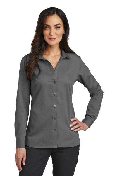 Red House RH470 Ladies Nailhead Non-Iron Shirt - Black - HIT A Double