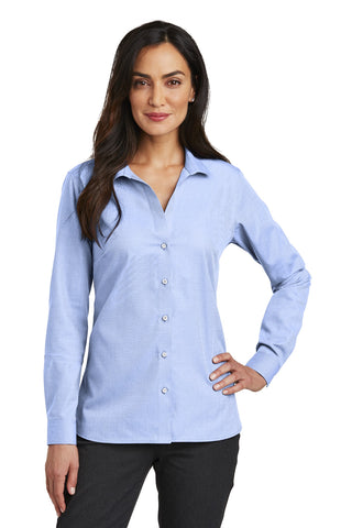 Red House RH470 Ladies Nailhead Non-Iron Shirt - Blue Pearl - HIT A Double