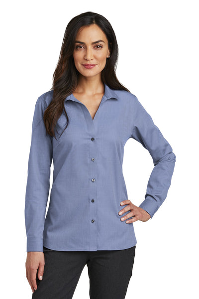 Red House RH470 Ladies Nailhead Non-Iron Shirt - Navy - HIT A Double