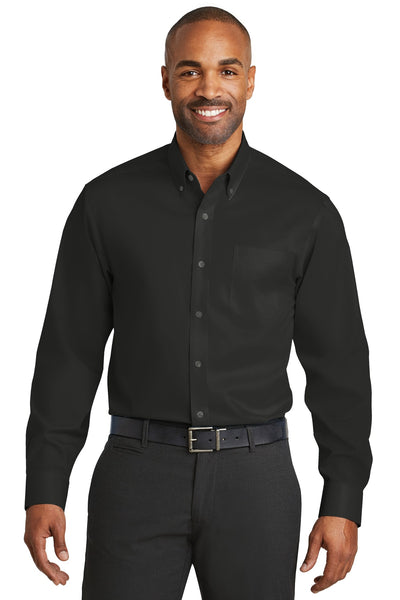 Red House RH78 Non-Iron Twill Shirt - Black - HIT A Double