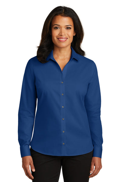 Red House RH79 Ladies Non-Iron Twill Shirt - Blue Horizon - HIT A Double