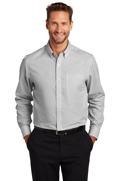 Red House RH85 Open Ground Check Non-Iron Shirt - Black White - HIT A Double