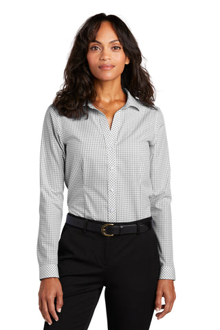 Red House RH86 Ladies Open Ground Check Non-Iron Shirt RH86Black White - HIT A Double