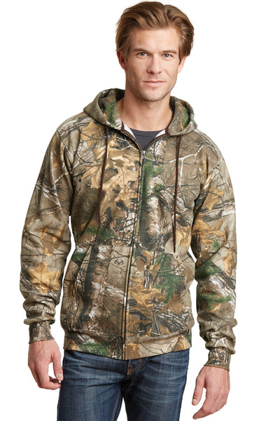 Russell Outdoors RO78ZH Realtree Full-Zip Hooded Sweatshirt - Realtree Xtra - HIT A Double