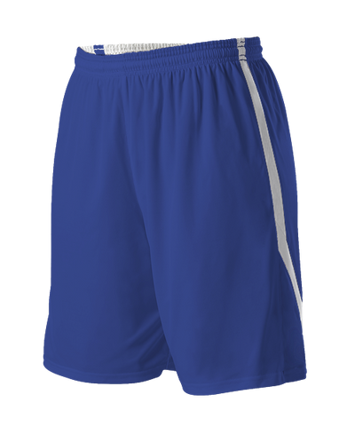Alleson 531PRW Women's Reversible Basketball Short - Royal White - Basketball - Hit A Double