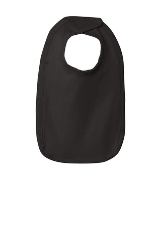 Rabbit Skins 1005 Infant Premium Jersey Bib - Black