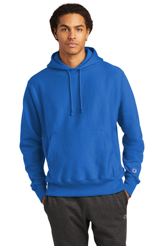 Champion S101 Reverse Weave Hooded Sweatshirt - Athletic Royal