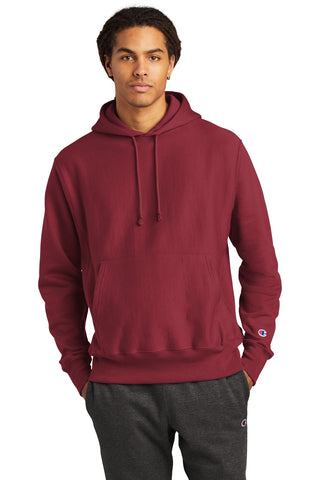 Champion S101 Reverse Weave Hooded Sweatshirt - Cardinal