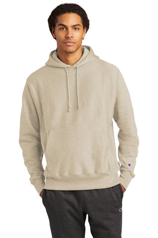 Champion S101 Reverse Weave Hooded Sweatshirt - Oatmeal Heather