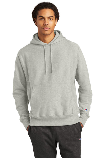 Champion S101 Reverse Weave Hooded Sweatshirt - Oxford Gray