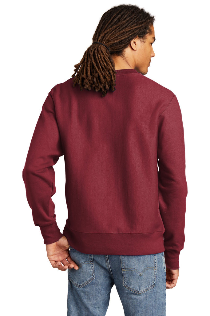 Champion S149 Reverse Weave Crewneck Sweatshirt - Cardinal - HIT A Double